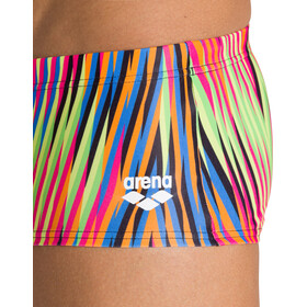 arena Speed Stripes Shorts Cintura Baja Hombre, Multicolor